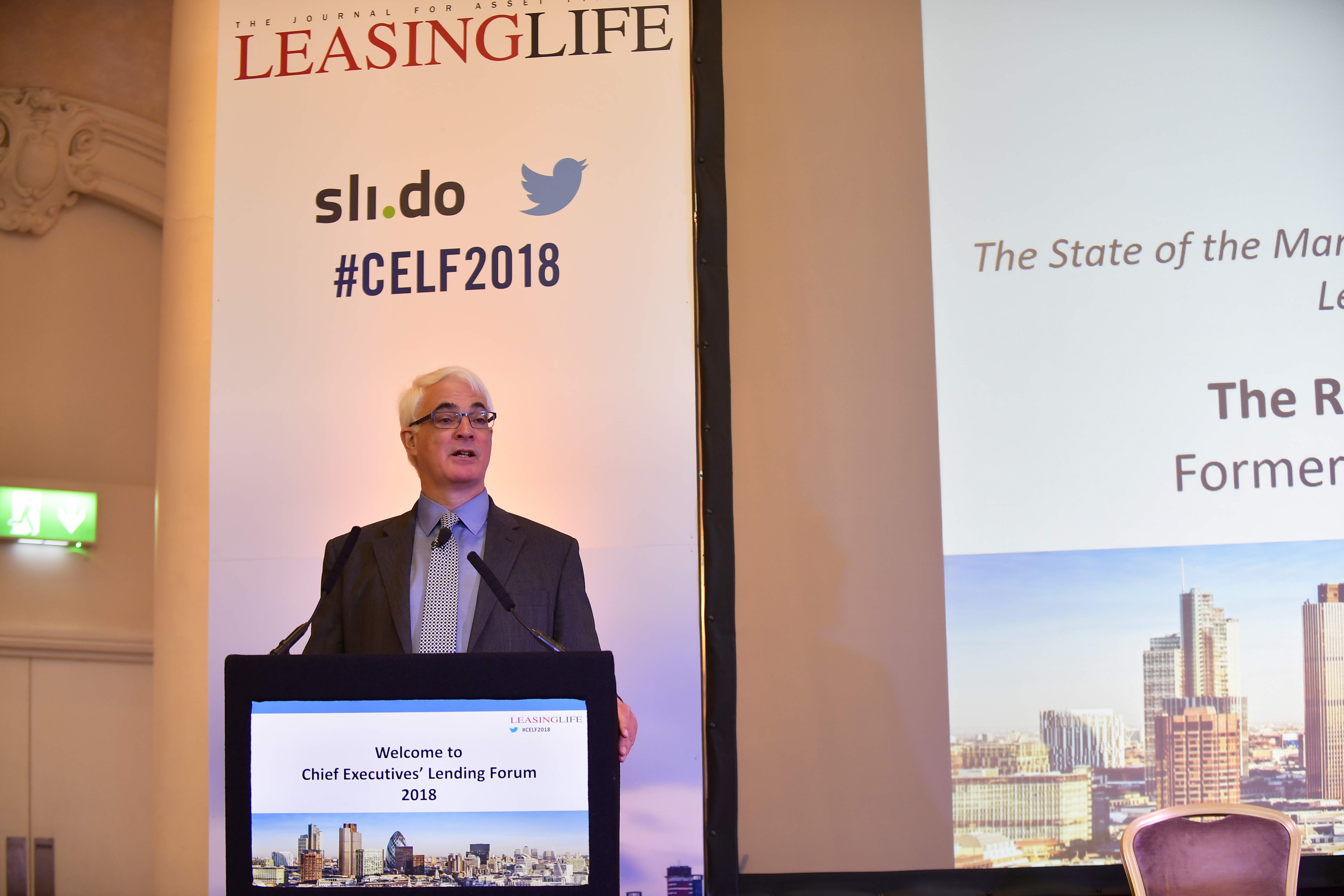 Alistair Darling: a financial perspective