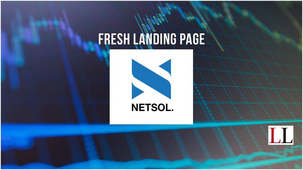 NETSOL Technologies landing page targets equipment leasing