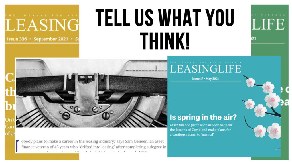 Reader Survey: Tell us what you think!